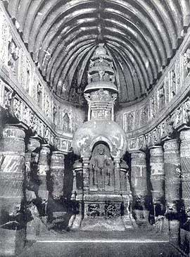 Ajanta Cave 19