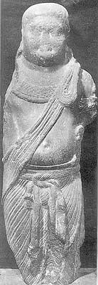 Yaksha Figure from Patna 2nd Century B.C.