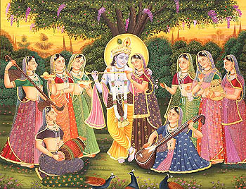 A Divine Musical Concert at Vrindavan