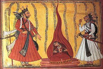 Sita's Fire Ordeal