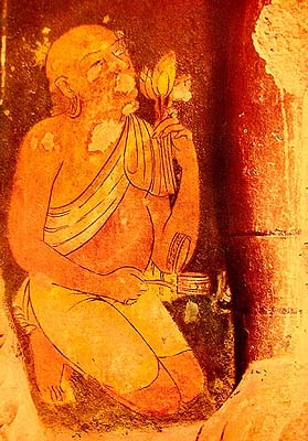 The Male Drape in Ajanta