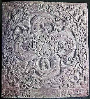 Jain Ayagapatta (cosmic diagram), Kushan Period