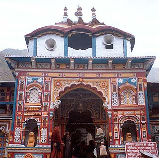 The holy shrine of Badarinath