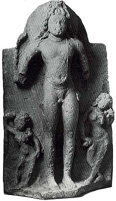 Bhiksatana with Female Figures Early Western Chalukya Dynasty Aihole, Karnataka Eighth Century Sandstone