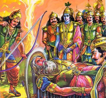 Bhishma's thirst is quenched