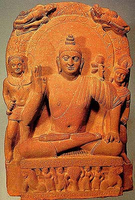 Buddha – With the Uttariya and Antariya made of a Single Cloth