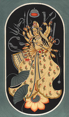 Cosmic Form of Goddess Durga