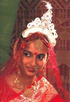 Indian Bridal Headgear
