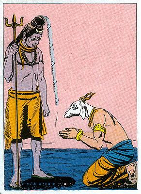 Dakhsa pays homage to Shiva
