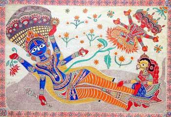 Shesh-Shayi Vishnu