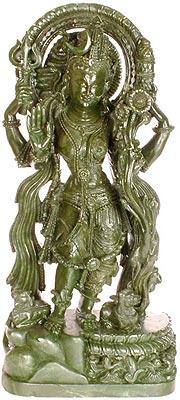 Tribhanga posture of Ardhanarishvara