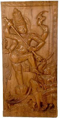 Rescue of Saint Markandeya by Lord Shiva