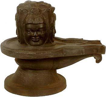 Sacred Pancha-Mukha Linga