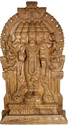 Five-Headed (Pancha-Mukhi) Hanuman