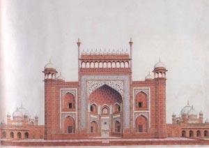 Gateway to Taj Mahal