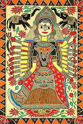 Goddess Mahalakshmi in Her Prime Role of Creation