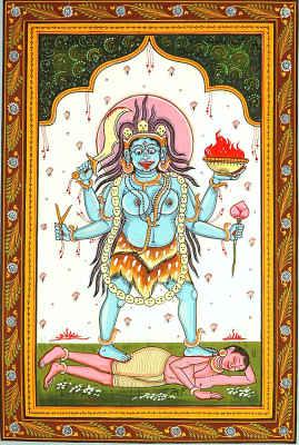Goddess Tara Who Guides Through Troubles (Ten Mahavidya Series)