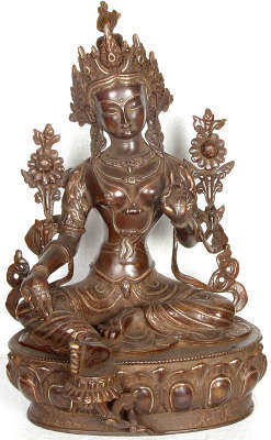 Green Tara - The Savior Goddess