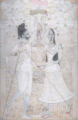 Goddess Parvati and Lord Shiva