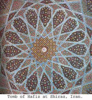 Tomb of Hafiz in Iran
