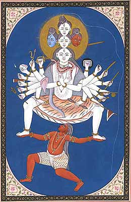 Svachchhanda Bhairava