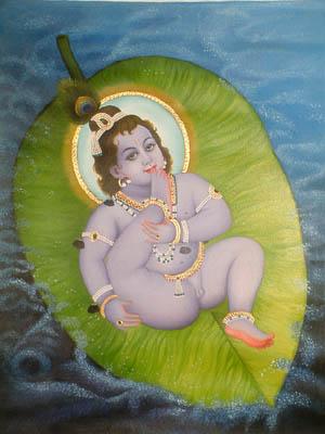 Infant Krishna