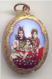 Goddess Parvati, Lord Shiva and Lord Ganesha