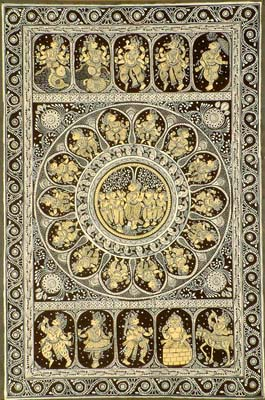 Krishna and the Ten Incarnations of Vishnu