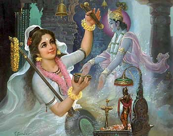 Krishna takes on the Poison's Evil Effect on Himself