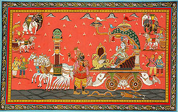 Krishna's Gita Updesha