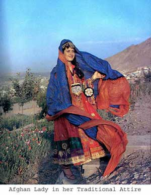 Afghan Lady