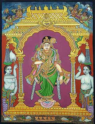 Lakshmi as Shridevi