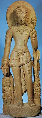 Lokanath on Lotus, 9th Century