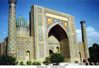 Madarsa in Uzbekistan