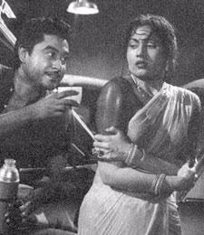 Madhubala - Perhaps India's Most Beautiful Actress Ever Wearing a Wet Sari