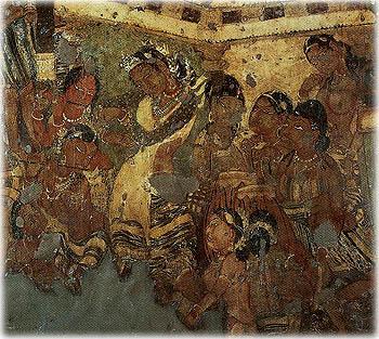 The Tempting of Mahajanaka.