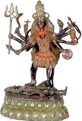 Mahakali - The Cosmic Form of Goddess Kali