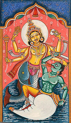 Matsya, the Fish Avatara (The Ten Incarnations of Lord Vishnu)