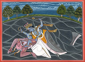 Matsya - The Fish Incarnation of Vishnu