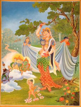 Maya Devi and Buddha's Birth