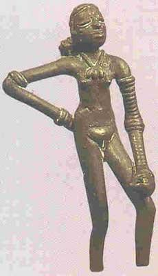 Bangles in Mohenjodaro Statue