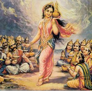 Lord Vishnu as Mohini