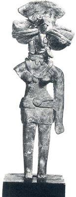 Mother Goddess in Terracotta from the Indus Valley