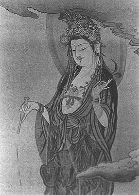 Kuan Yin with Moustache