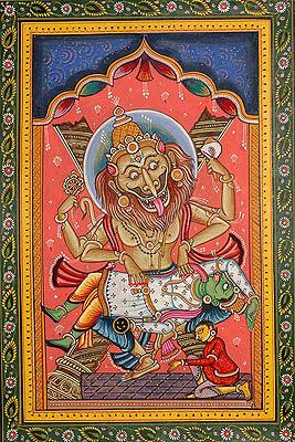 Narasimha Avatara (The Ten Incarnations of Lord Vishnu)