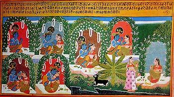 A Frame by Frame Narration of the Gita Govinda