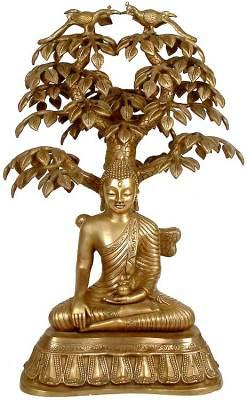 Nirvana Buddha Under the Tree of Life