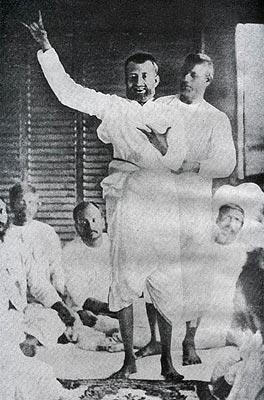 Sri Ramakrishna in Ecstasy
