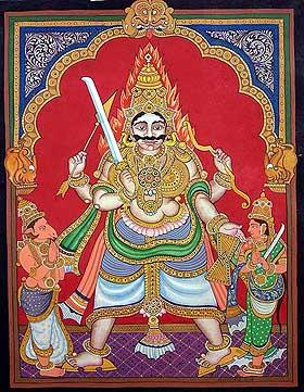 Virabhadra, Shiva's Most Trusted Guard