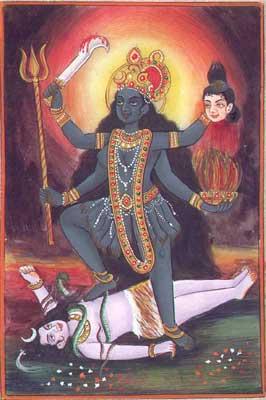 Kali as Shakti